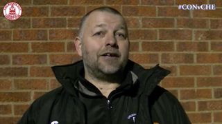 Mark Hawkes Interview - Concord Rangers 2 vs 1 Clarets