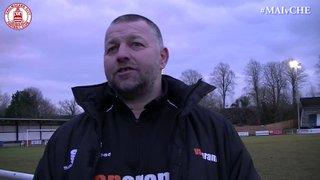 Mark Hawkes Interview - Maidenhead United 2 vs 0 Clarets