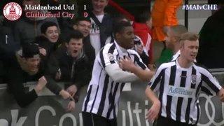 Maidenhead United vs Chelmsford City - Highlights