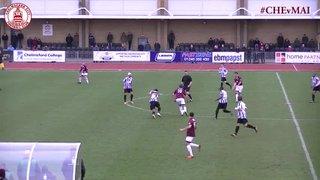 Joe Ward Goal vs Maidenhead United (h)