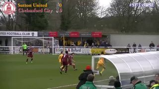 Sutton United vs Chelmsford City - Highlights