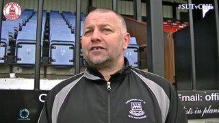 Mark Hawkes Interview - Sutton United 1 vs 0 Clarets