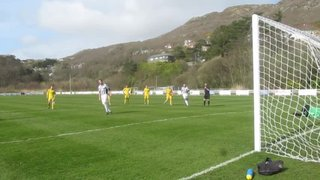 Paul Lewis's 78th minute penalty v Llandudno Jct, 11/4/15