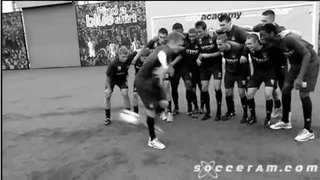 MAN CITY YOUTH ACADEMY VS FALCAO - SKILLS SKOOL