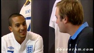 Soccer am - Tubes talks to Arsenal FC Theo Walcott