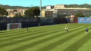 Barcelona Youth FC Drill 12 Ultimate Control