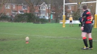TRFC 2nds 'Piggy hitting the post'