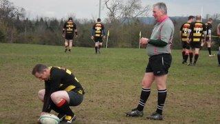 Underwood steals piggys kick, on captains day