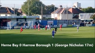 FA Trophy Herne Bay v Harrow Borough