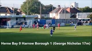 FA Trophy Herne Bay v Harrow Borough
