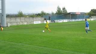 Grays Athletic 1 Herne Bay 1. Jamie's goal