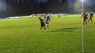 Kingy opens the Scoring against Sittingbourne