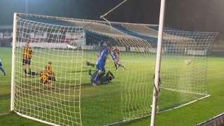 Steve Ita opens the scoring against East Grinstead