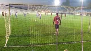 Danny Walder wraps it up against Sittingbourne