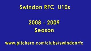 Swindon RFC U10s 08-09 season