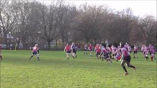 2nd XV vs. Stones; Jan '15