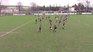 Tom O'Donnell try against Macclesfield