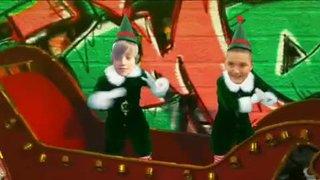 U12 Players in Elf Video at Xmas 2012