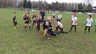 Under10s at Grasshoppers Jan 16