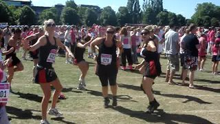 Race For Life Warm Up