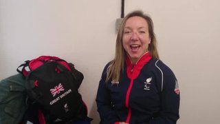 Message to U10s from Paralympian Anna Turney