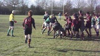 SWRFC U16's in action