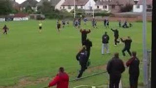 Southport ladies vs Liverpool collegiate ladies. Southport winning kick