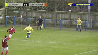 Garforth Town vs Cleethorpes Town NCEL Premier Division Saturday 13th February 2016