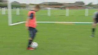 45 BCFC Skills Challenge - How to make short passes!