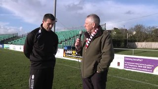 Steve Tully Post Match Interview with Dave Deacon