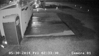 CCTV -Power Washer being stolen from Truro City FC