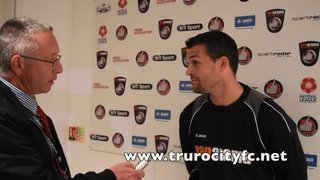 Steve Tully Post Match Interview - Hayes & Yeading - 11th Aug 2015