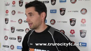 Jake Ash Post Match Interview - Concord Rangers 15th August 2015