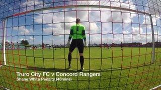 Shane White Penalty (48min) - Truro City FC v Concord Rangers (15082015)