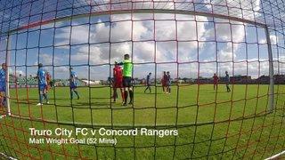 Matt Wright Goal  (52min) - Truro City FC v Concord Rangers (15082015)