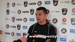 Steve Tully Post Match Interview - Bishop Stortford 22nd August 2015