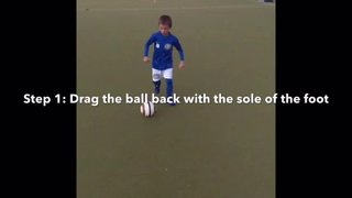 Vision Football Academy Skill of the Month - The Sole Flick