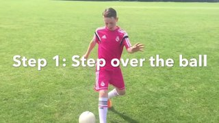 Vision Football Academy Skill of the Month - The Step Over