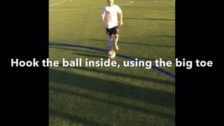 Vision Football Academy Skill of the Month - The 3 Turns Inside/Outside Hook & Pull Back