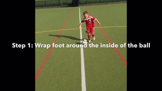 Vision Football Academy Skill of the month - The Scissors