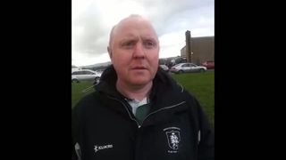 Phil Marshal - Interview following Larne game at Home