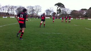 1st XV take to the field at Camborne RFC