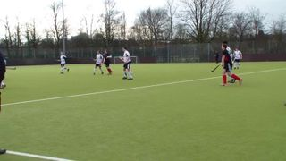 Leicester 1's Vs Ashby. Short Corner 3