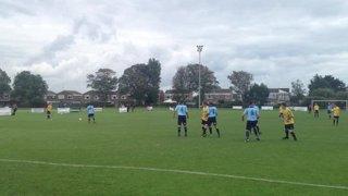 Free kick v Hailsham