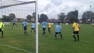 Goal mouth action v Hailsham