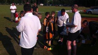 U10s Celebrate Crookham Tournament Victory