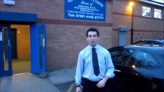 2012/13 End of Season Dinner - 1st XV Speech - Steven Bannell