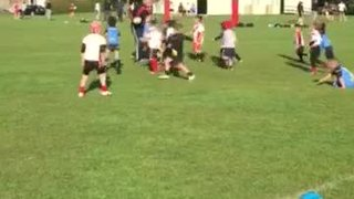 U7's training session (showing how you tackle your coach)