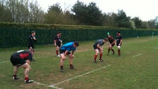 Mighty 2's Lineout Practice