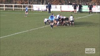 Neal Collinge try vs Winnington Park 1st XV